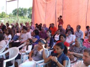 Встреча в Текали. Фото Эдиты Бадасян