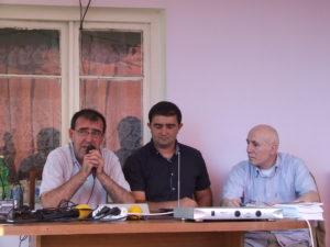 Гиоргий Ванян, Бахтияр Зейналов и Эдуард Дзаварян