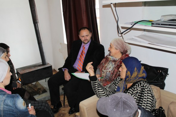 Meeting in Pankisi