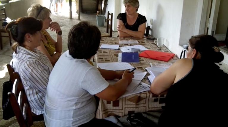Женщины из приграничных сел хотят участвовать в мирных переговорах