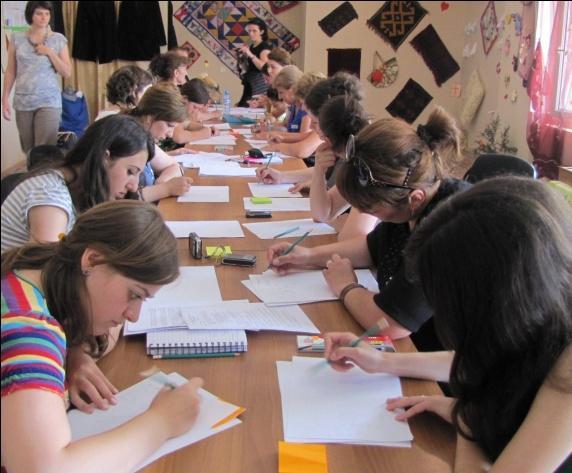 Грузинские женщины объединяются за мир
