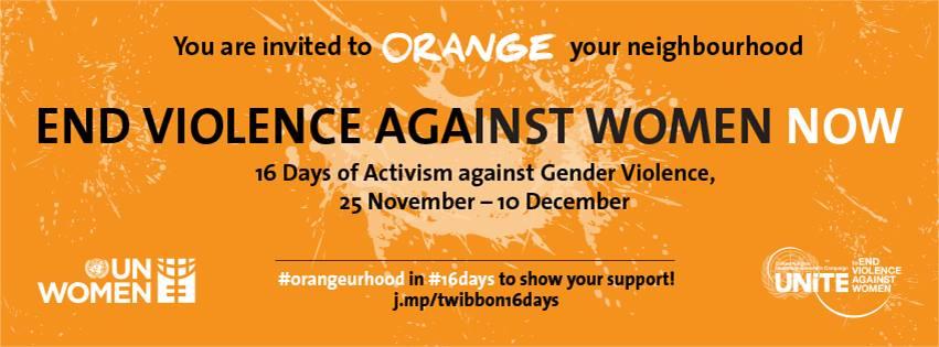 «Сделай свое окружение оранжевым»: начинается 16-дневная акция против насилия над женщинами