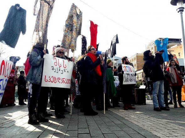 В Грузии стартавали 16 дней активизма против насилия над женщинами